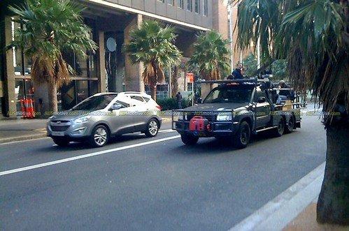 Hyundai ix35 Club - Съемка рекламы в Сиднее