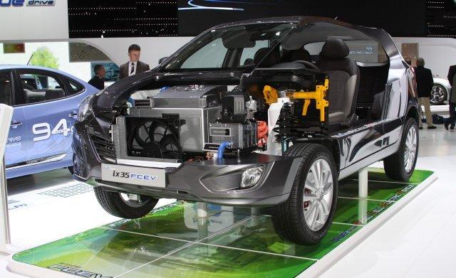 Hyundai ix35 Club - Концепт гибрида на водородных топливных элементах - выставка в Женеве