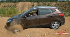 Hyundai ix35 Club - Испытания Hyundai ix35 на почве отечественного грунта